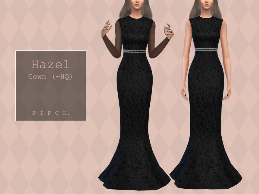 Элегантное платье Симс 4