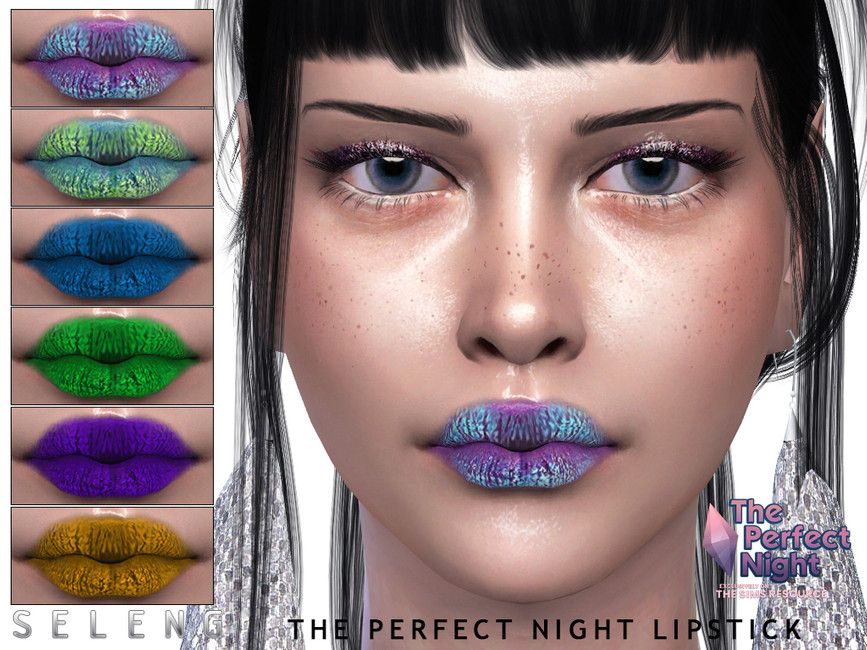 Губная помада The Perfect Night Lipstick Симс 4