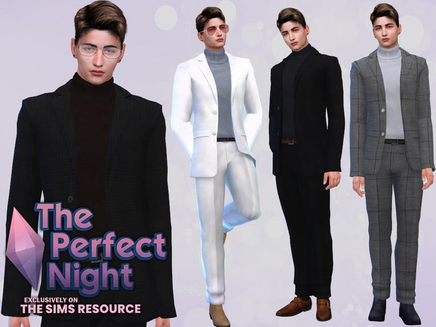 Классический костюм Симс 4