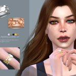 Кольцо Pernilla Ring V1 Симс 4