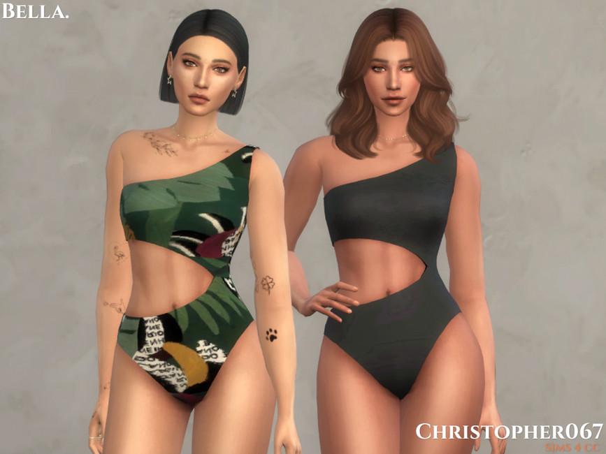 Моды одежда купальники Симс 4 (картинка 2)