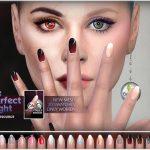 Ногти Female Medium Nails Симс 4