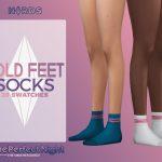 Носки Cold Feet Socks Симс 4