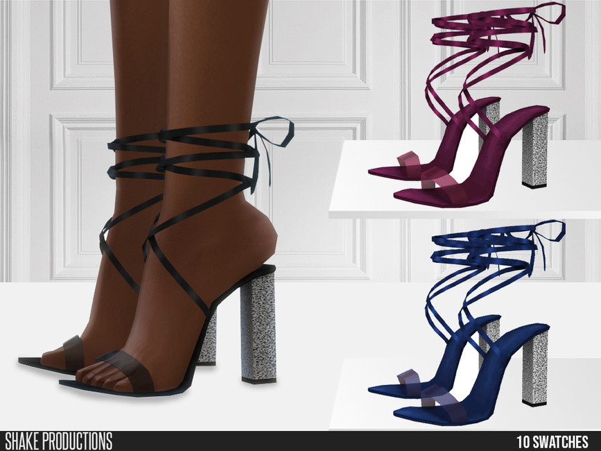 Обувь 699 - High Heels Симс 4