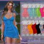 Платье Dress Noctis Ornate Симс 4
