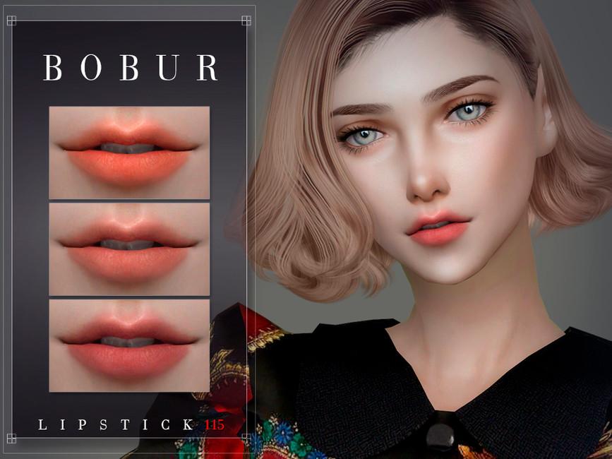 Помада Lipstick 115 Симс 4