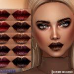 Помада Nightlife Lipstick Симс 4