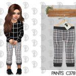Штаны для детей Pants C378 Симс 4