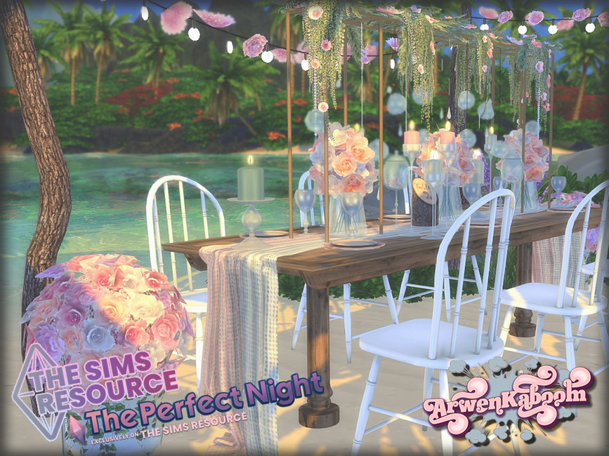 Свадебный набор Essentials Симс 4