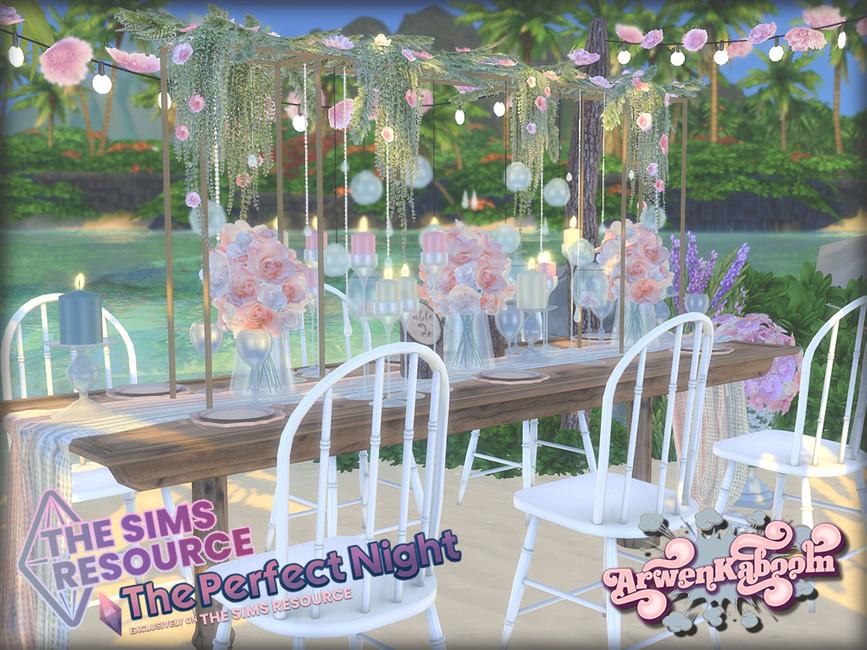 Свадебный набор Essentials Симс 4 (картинка 2)
