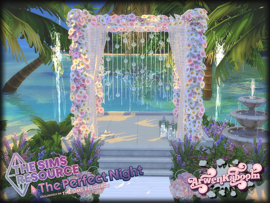 Свадебный набор Essentials Симс 4 (картинка 6)
