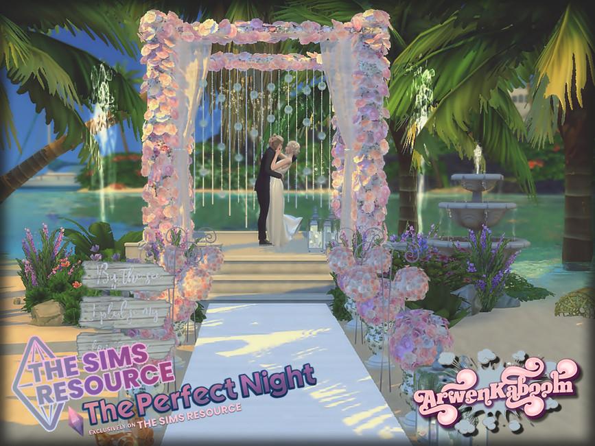 Свадебный набор Essentials Симс 4 (картинка 8)