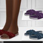 Тапочки 698 - Slippers Симс 4