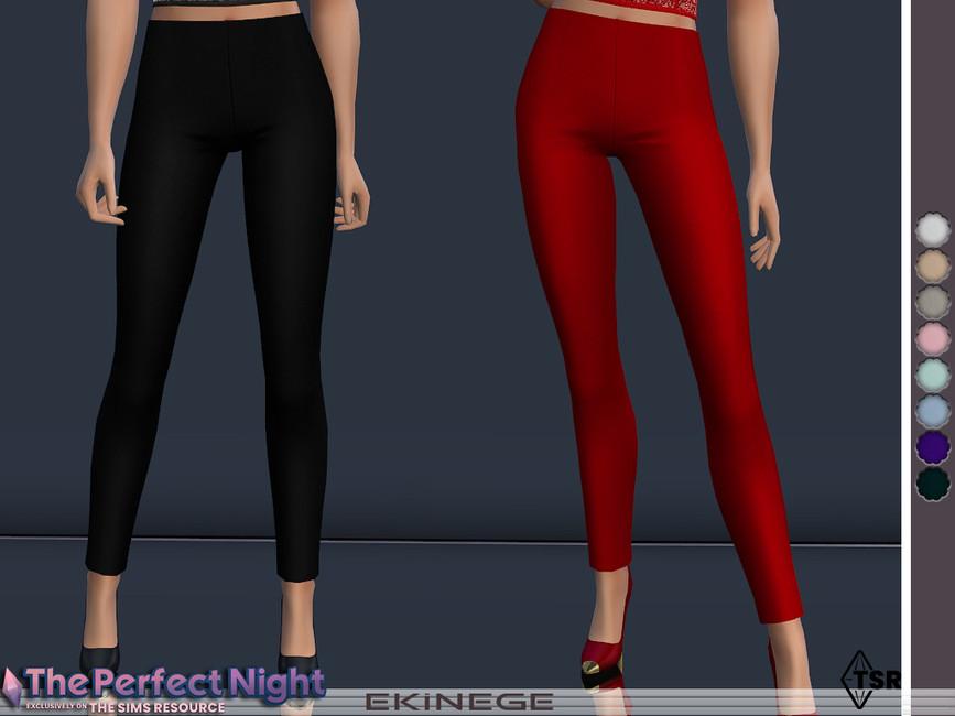 Узкие брюки Симс 4