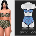Бикини Bikini C476 Симс 4
