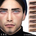 Брови Eyebrows N125 Симс 4