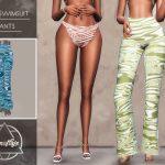 Брюки Nina Swimsuit - Pants Симс 4