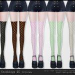 Чулки Stockings 25 Симс 4