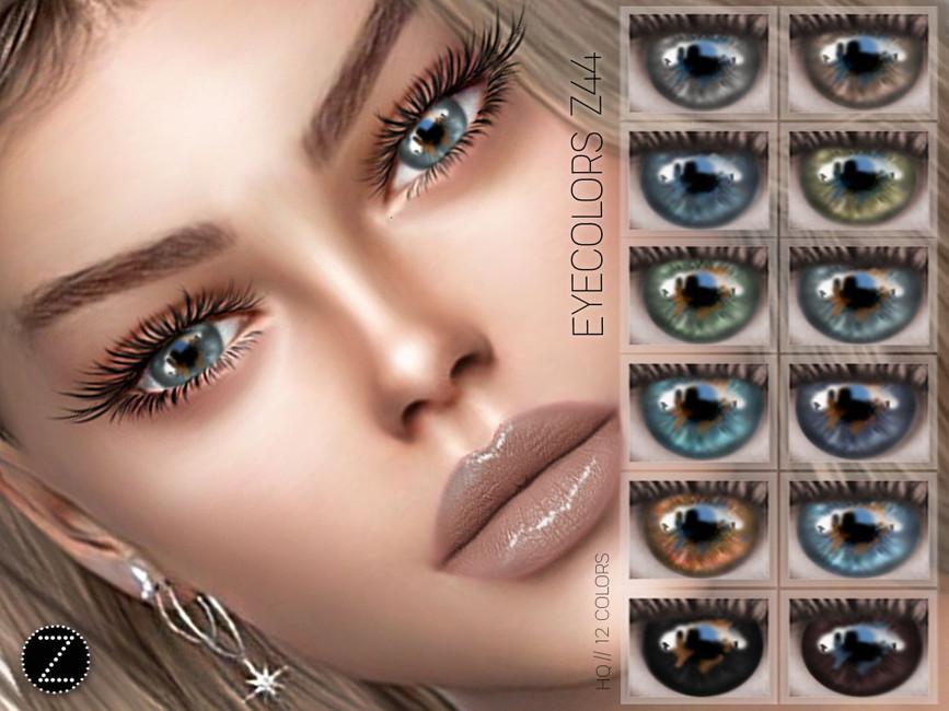 Цвет глаз EYECOLORS Z44 Симс 4