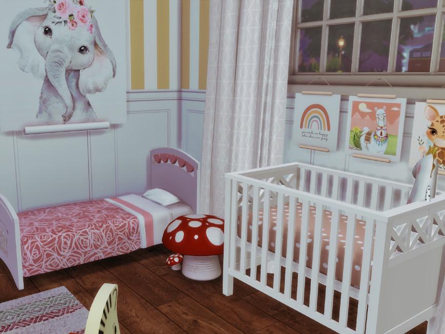 Детская комната для Симс 4 (картинка 2)