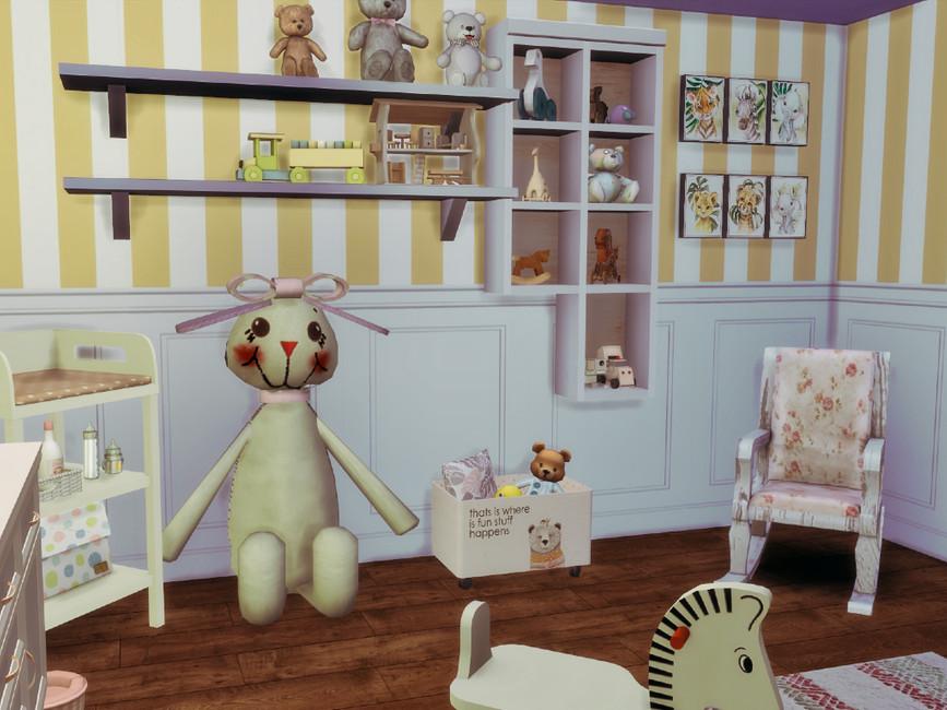 Детская комната для Симс 4 (картинка 3)