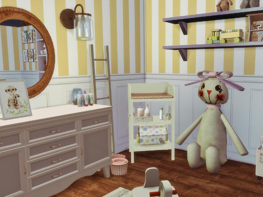 Детская комната для Симс 4 (картинка 4)
