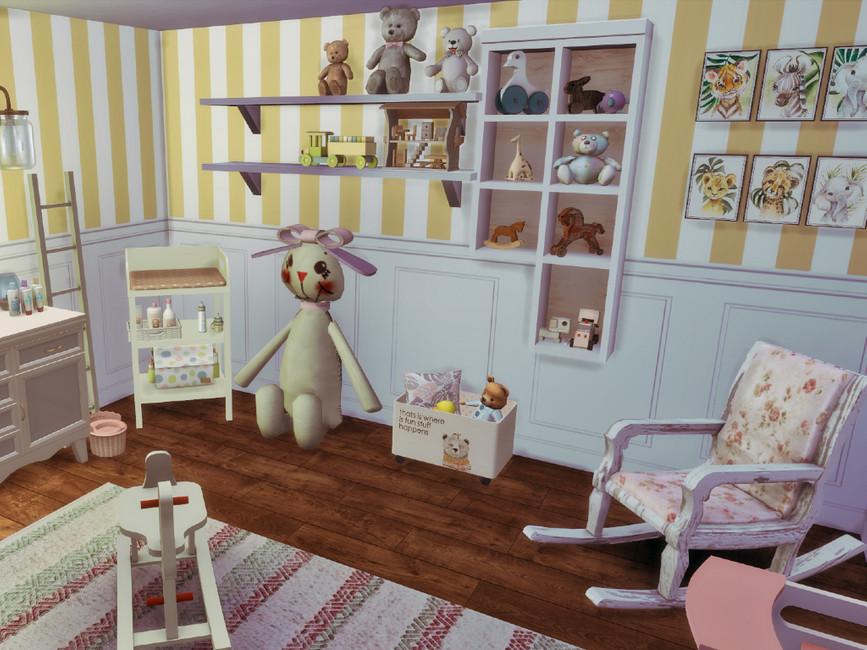 Детская комната для Симс 4 (картинка 5)
