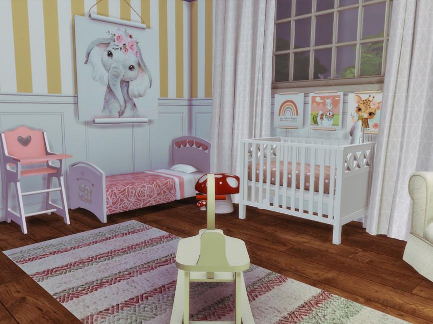 Детская комната для Симс 4 (картинка 6)