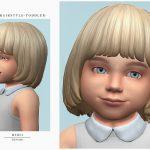 Детская прическа для Симс 4