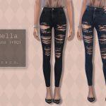 Джинсы Bella Jeans Симс 4