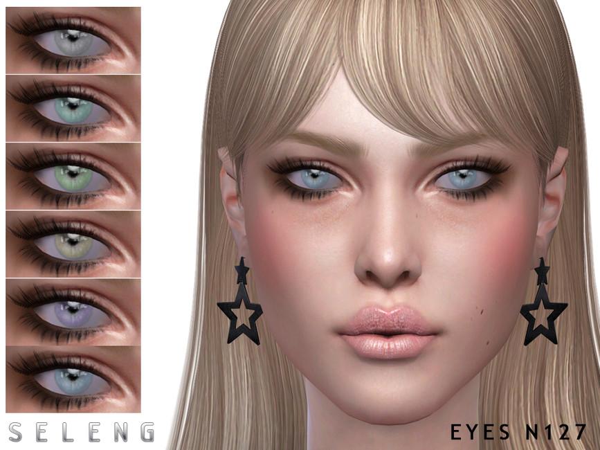 Глаза Eyes N127 Симс 4