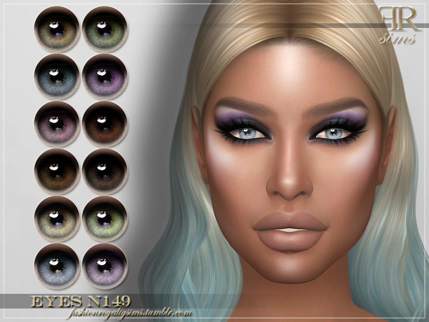 Глаза FRS Eyes N149 Симс 4