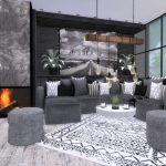 Гостиная Lara Livingroom Симс 4