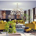 Гостиная MARIOLA - Living Room Симс 4