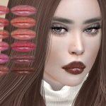 Губная помада IMF Kassandra Lipstick N354 Симс 4