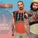 Худи BoS Beach Hoodie Симс 4