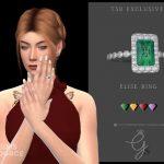 Кольцо Elise Ring Симс 4