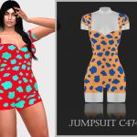 Комбинезон Jumpsuit C474 Симс 4