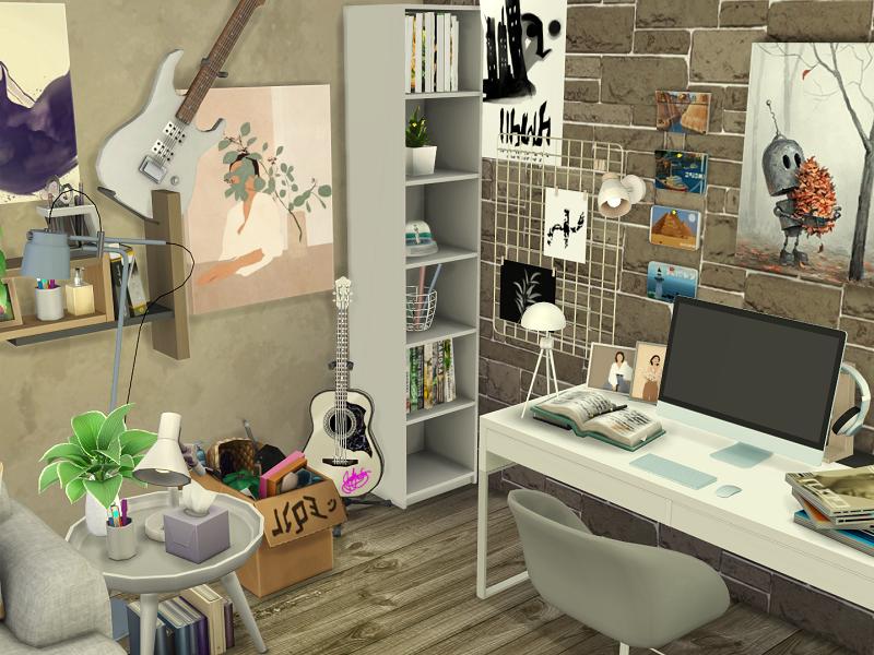 Комната подростка Симс 4 (картинка 5)