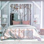 Комната спальня Симс 4