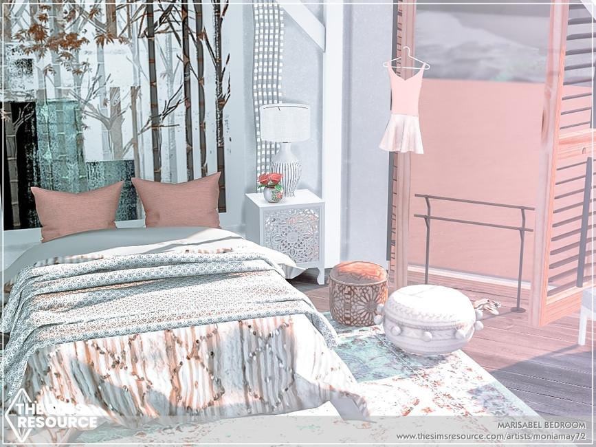Комната спальня Симс 4 (картинка 3)