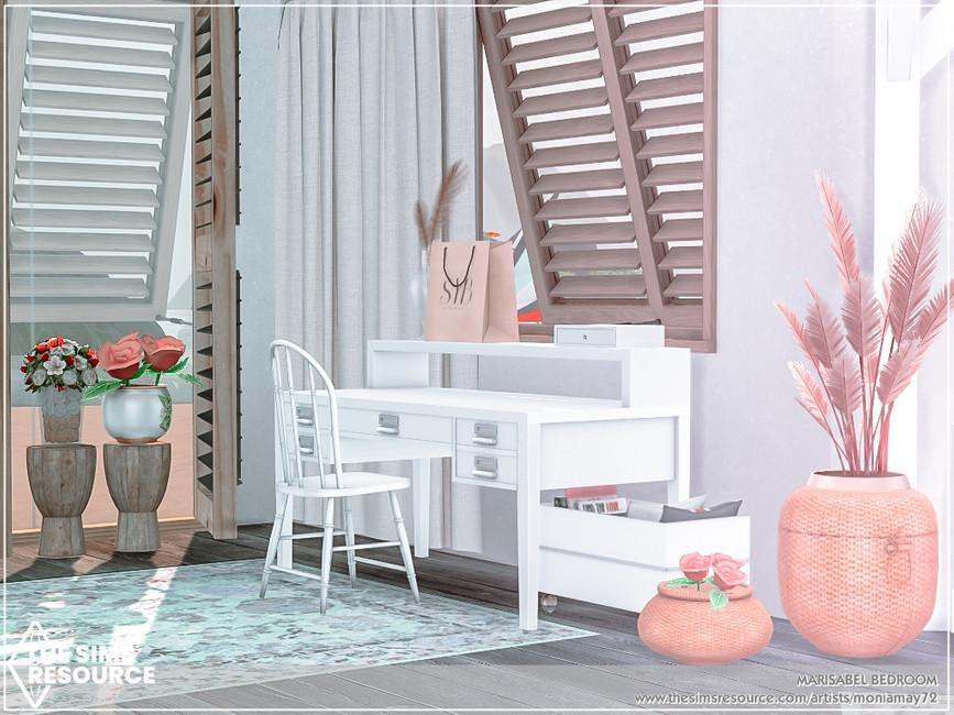 Комната спальня Симс 4 (картинка 4)