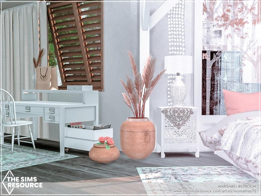 Комната спальня Симс 4 (картинка 6)