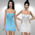 Короткие платья July Lingerie Симс 4