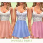 Короткое платье Симс 4