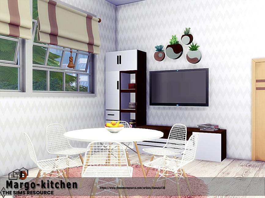 Кухня Margo - Kitchen Симс 4 (картинка 3)