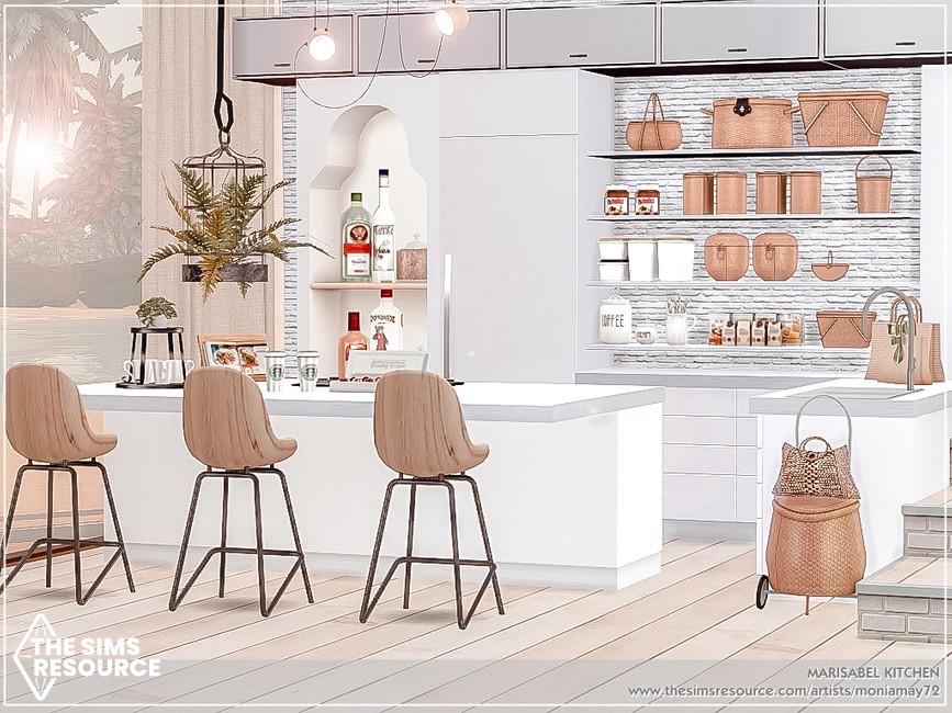 Кухня Marisabel Kitchen Симс 4