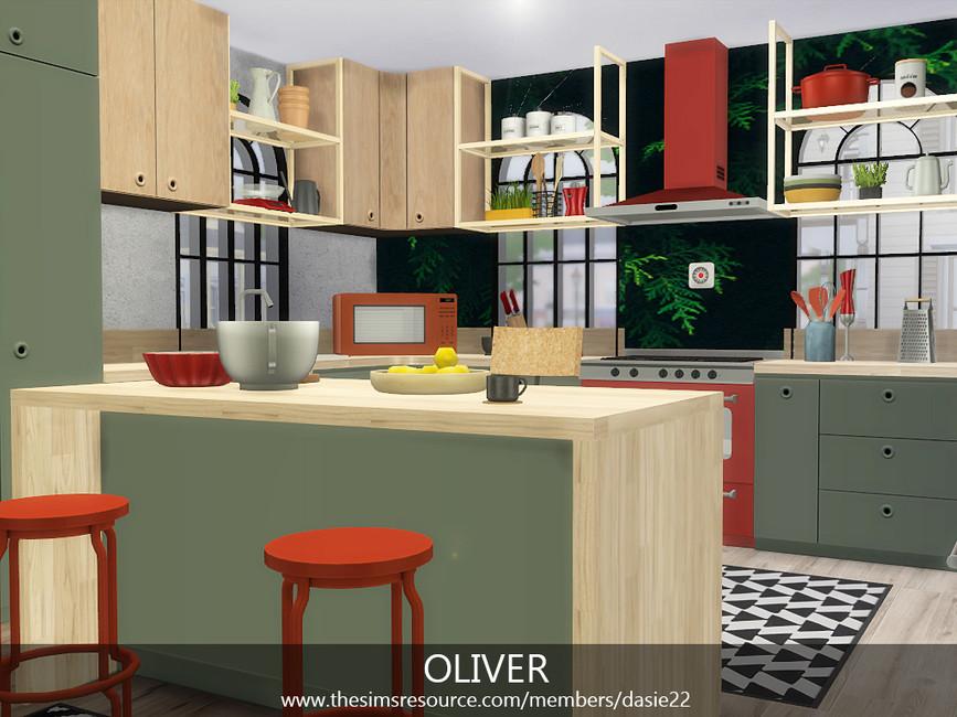Кухня OLIVER Симс 4