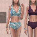 Купальник Clarity Swimsuit II Симс 4