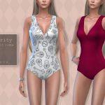 Купальник Clarity Swimsuit Симс 4
